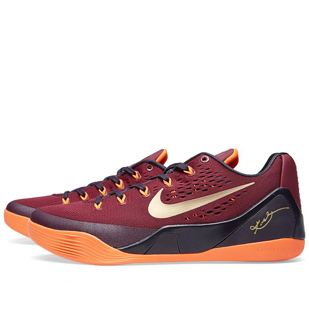 75838b63775c Nike Kobe IX  Deep Garnet  Deep Garnet   Metallic Gold