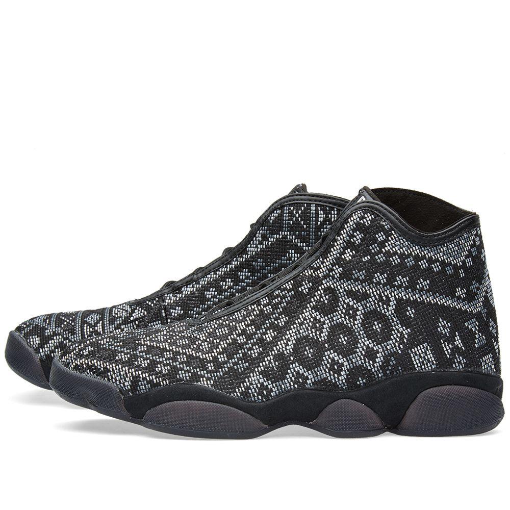 df0aaaacf237af Nike Air Jordan Horizon Premium PSNY Black   White