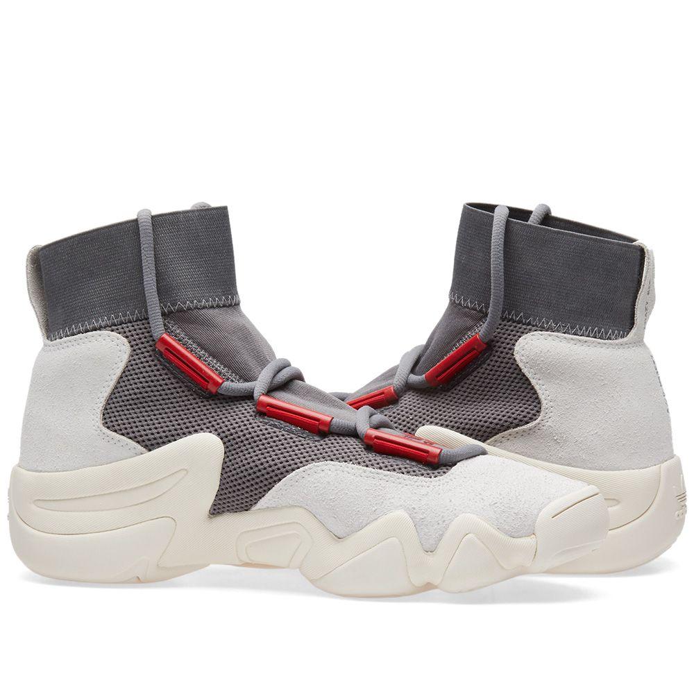 quality design 0b1fd 96556 Adidas Consortium Crazy 8 ADV. Grey Foam, Power Red  Sesame