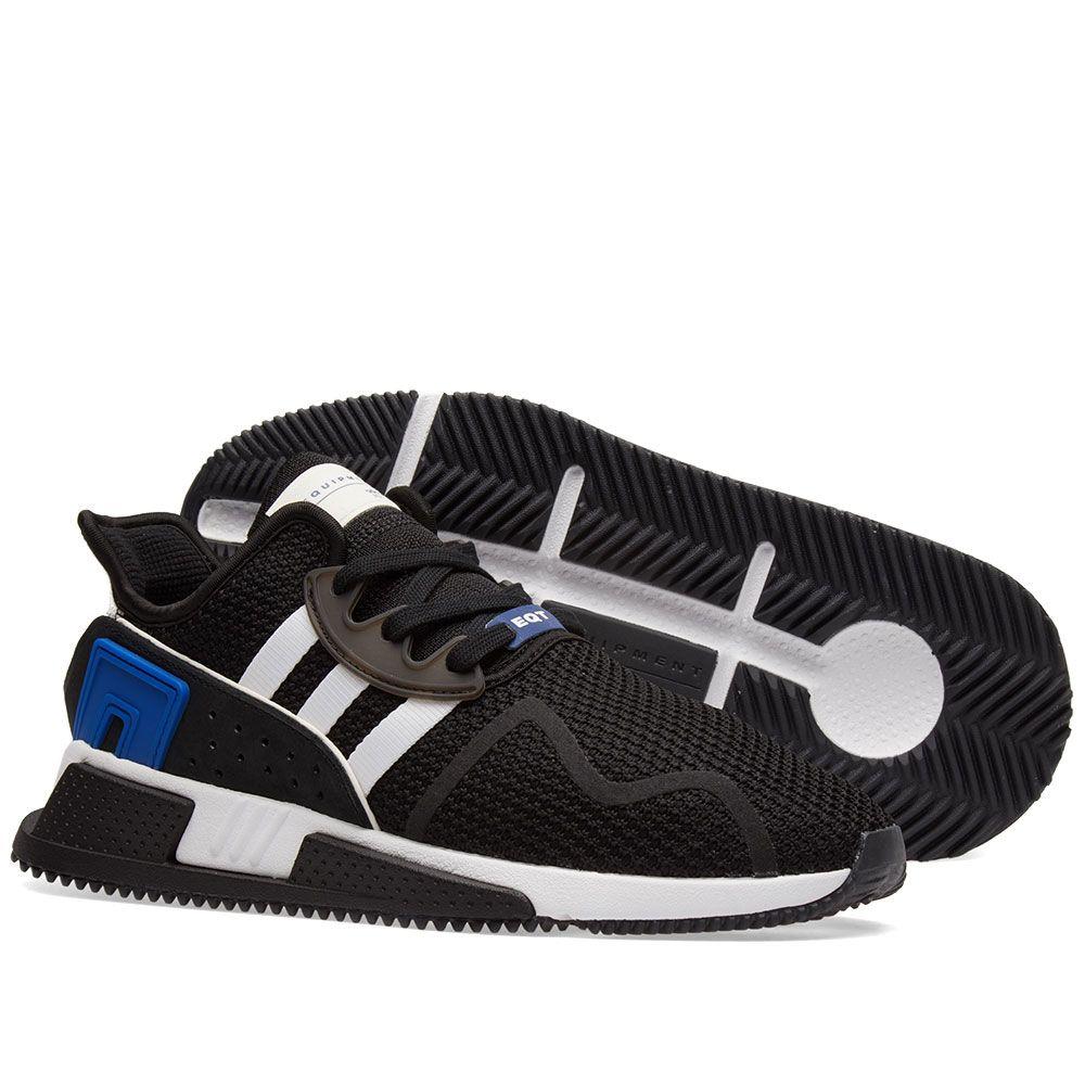 new york a7c65 1b9e0 Adidas EQT Cushion ADV. Black, White  Royal