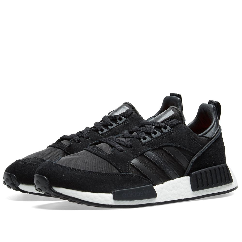 c2ca519d767 Adidas Boston Super x R1 Black   Solar Red