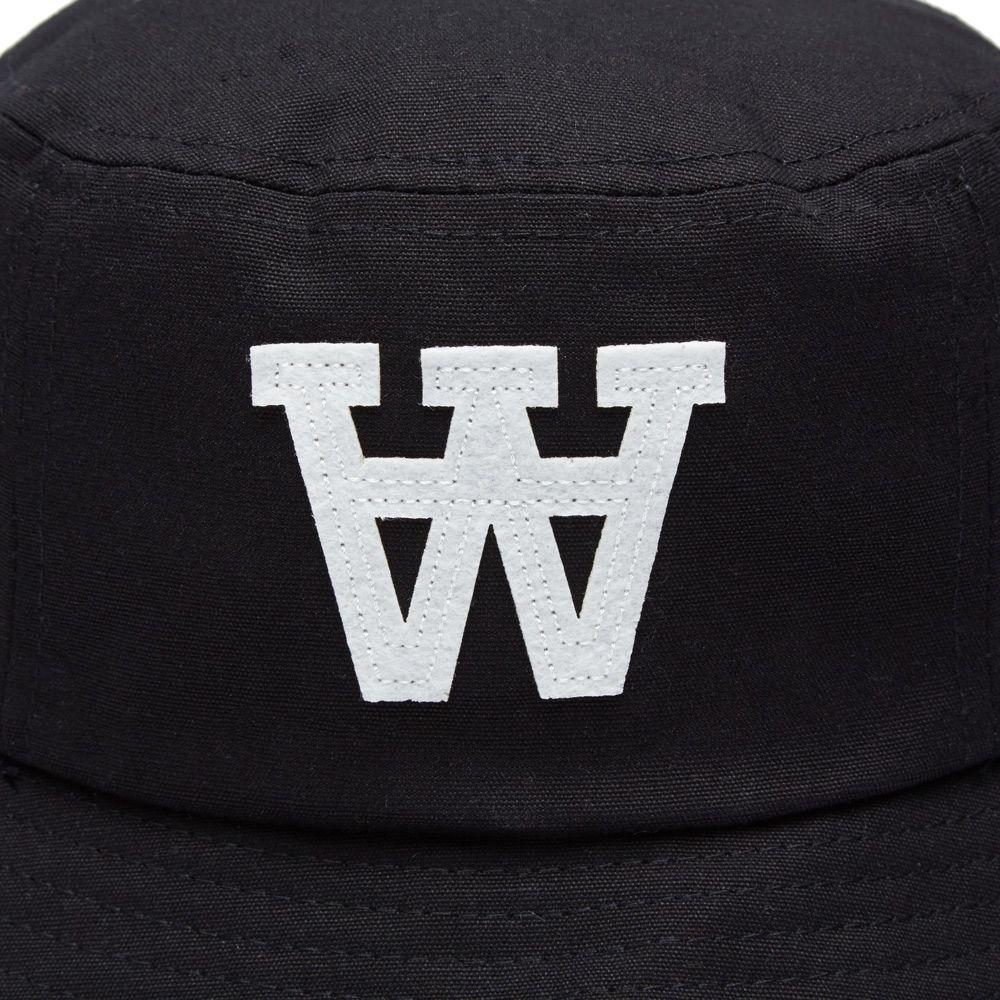 87ba5eef9f5 Wood Wood AA Bucket Hat Black