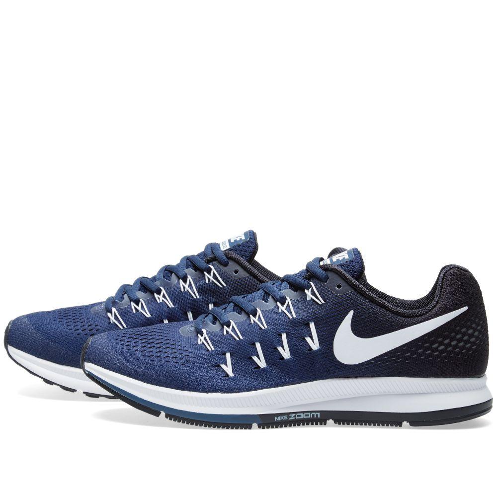 721083830915 Nike Air Zoom Pegasus 33 TB Midnight Navy   White