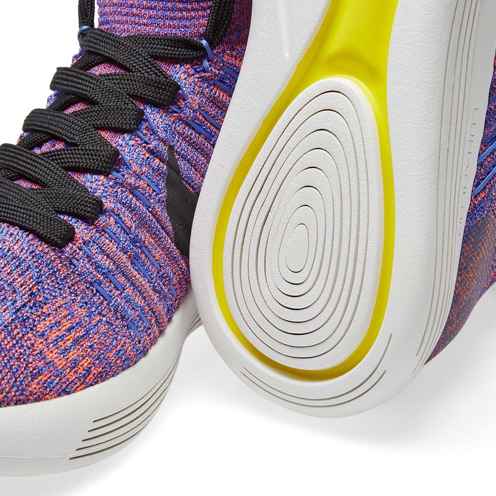 81ad64f1b7a5 Nike LunarEpic Flyknit Paramount Blue   Black