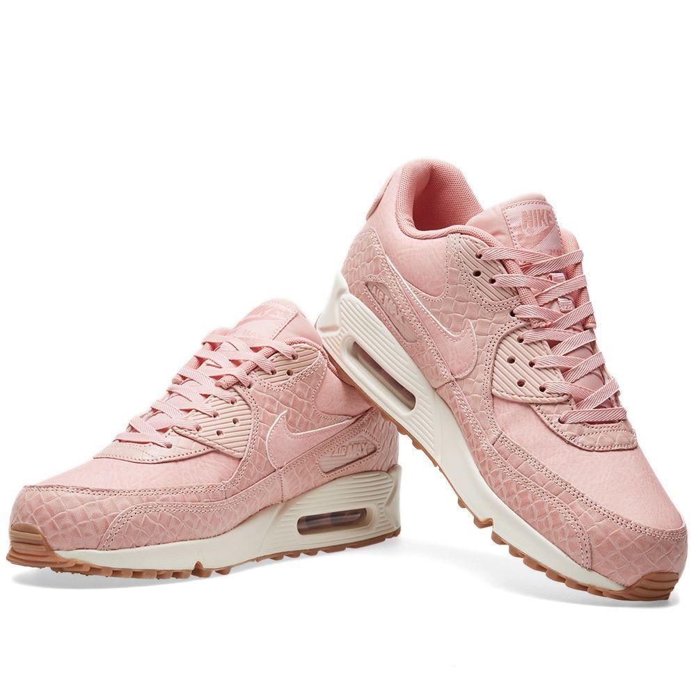 bd3f8567ed9e Nike W Air Max 90 Premium Pink Glaze   Pearl Pink