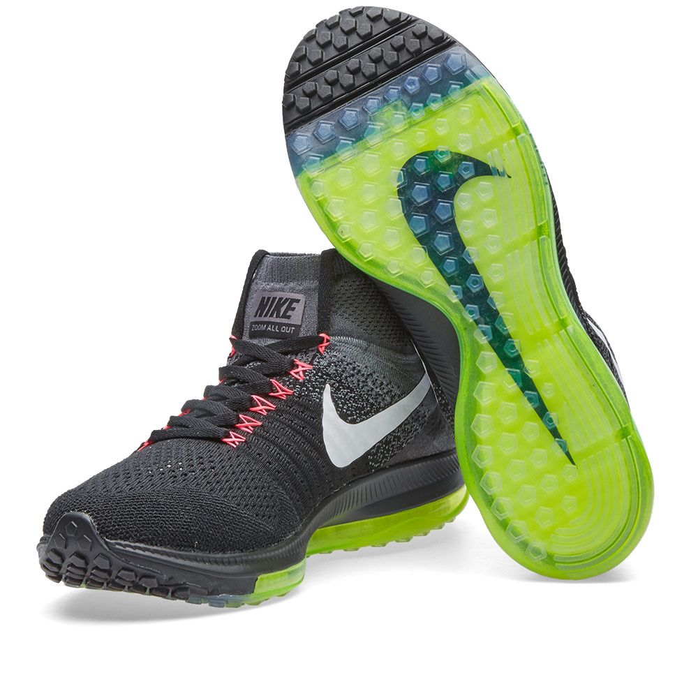 timeless design 7c165 51928 Nike Zoom All Out Flyknit Black  White  END.