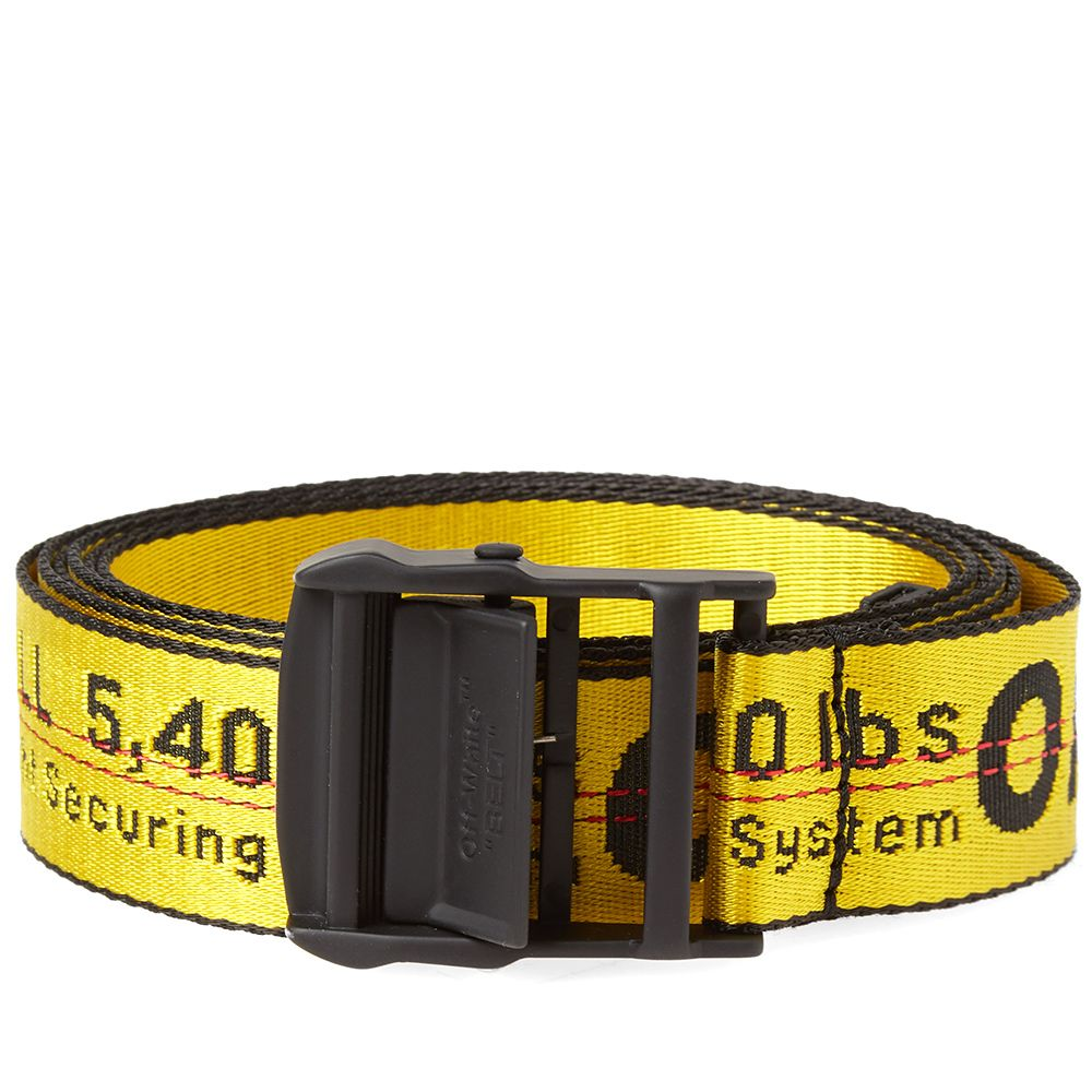 681f876739db4 Off-White Industrial Belt Yellow