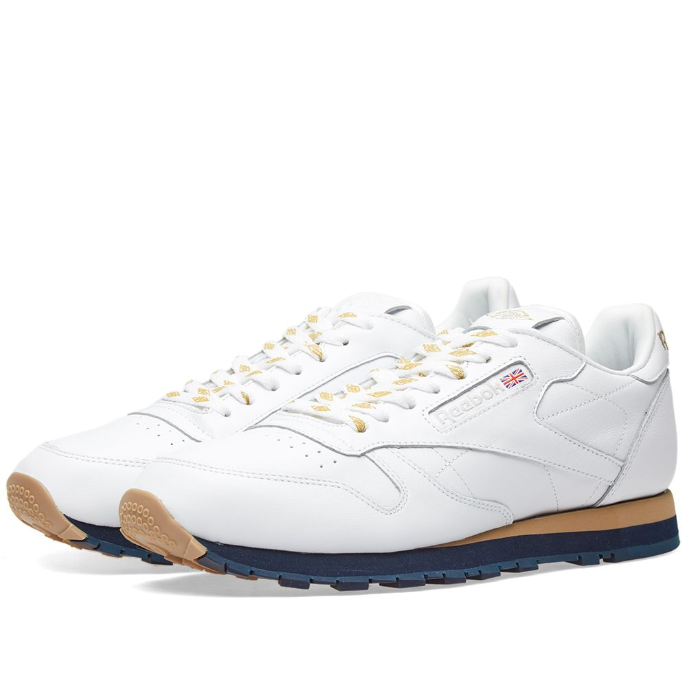 775a5793ee35 Reebok x Beams Classic Leather White