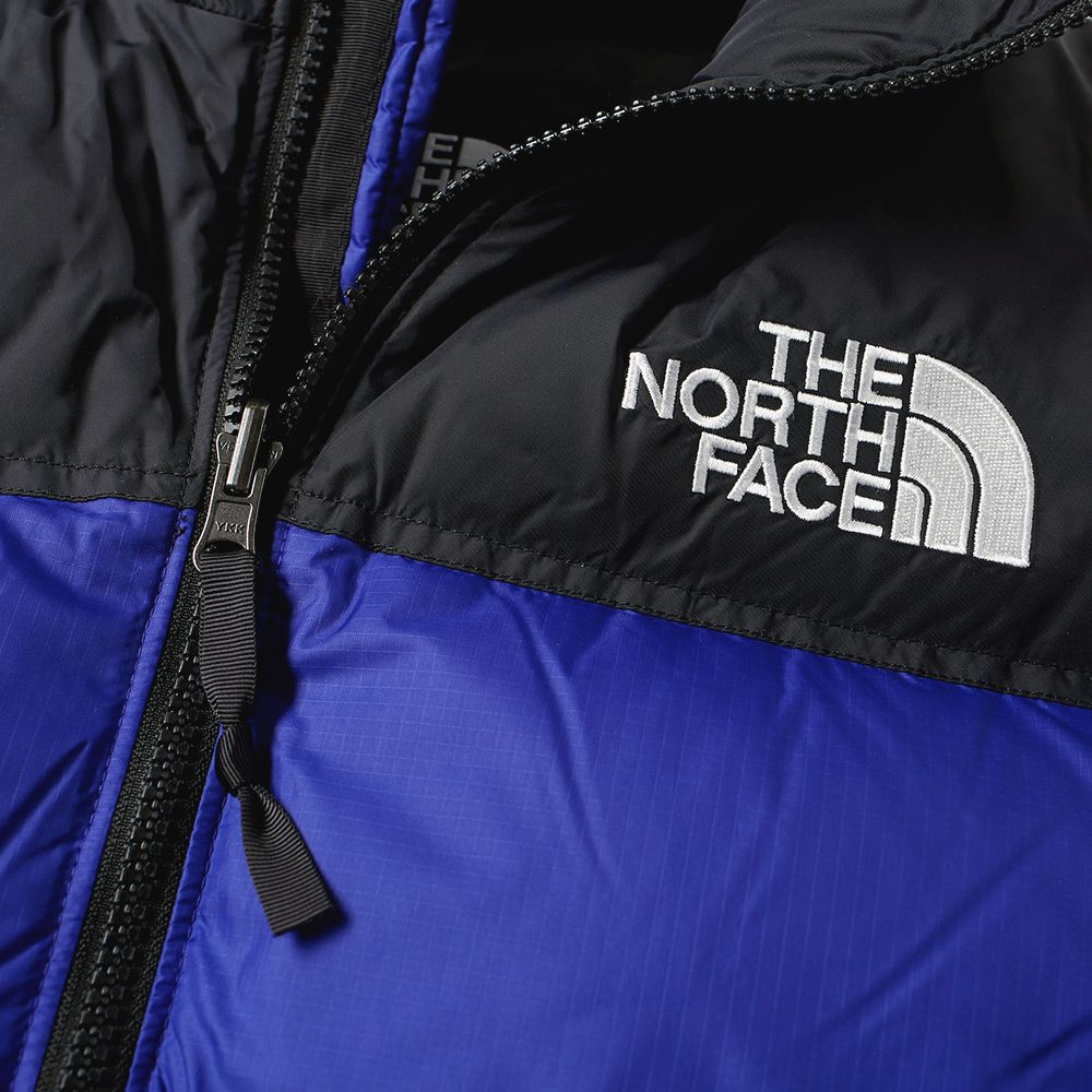 952e0f7893 The North Face 1996 Retro Nuptse Jacket Aztec Blue