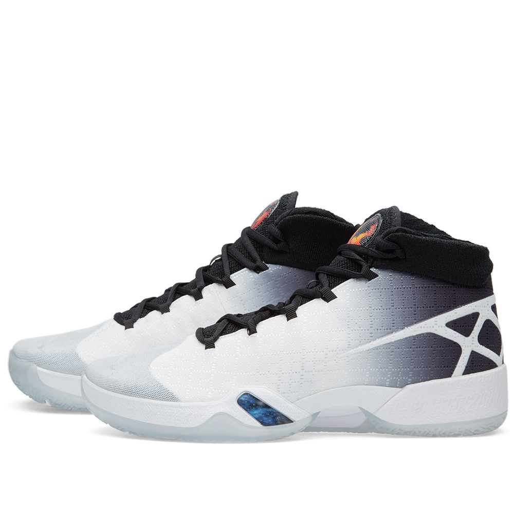 new concept 93ab1 458e7 Nike Air Jordan XXX White, Black   Wolf Grey   END.