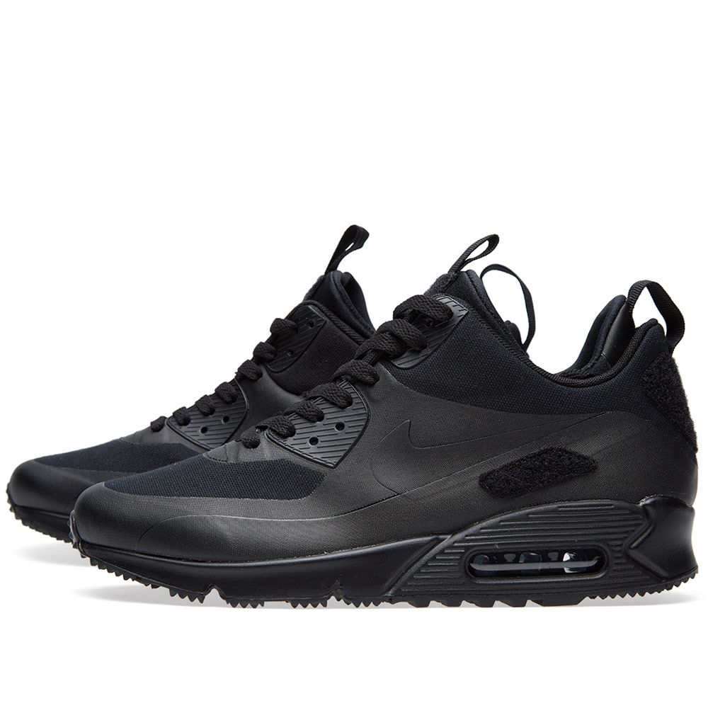 78e0363b1b Nike Air Max 90 Sneakerboot SP 'Patch' Black | END.