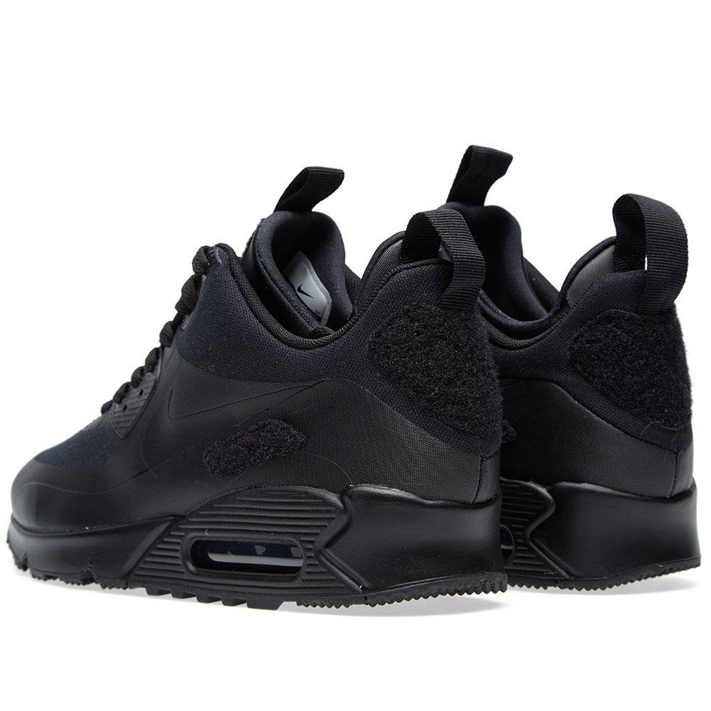 b3a7f813f1e Nike Air Max 90 Sneakerboot SP  Patch  Black