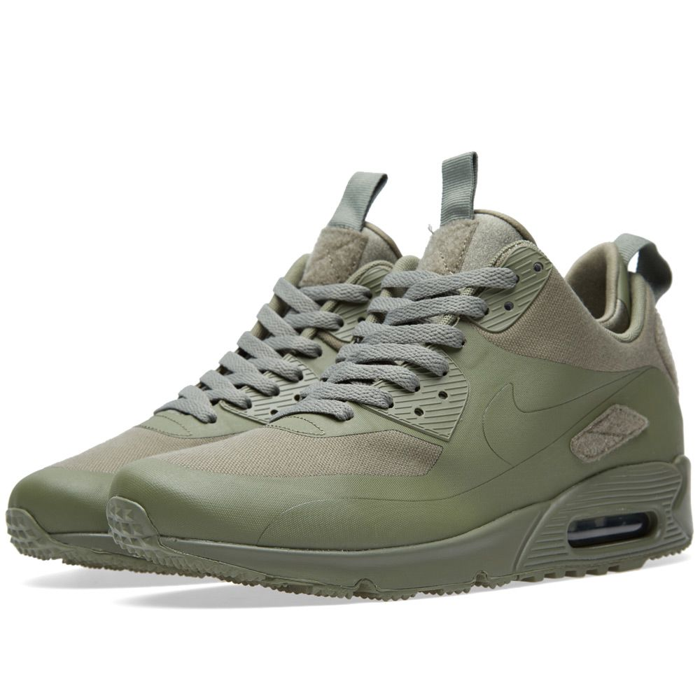 newest b0681 34a28 Nike Air Max 90 Sneakerboot SP  Patch  Steel Green   END.