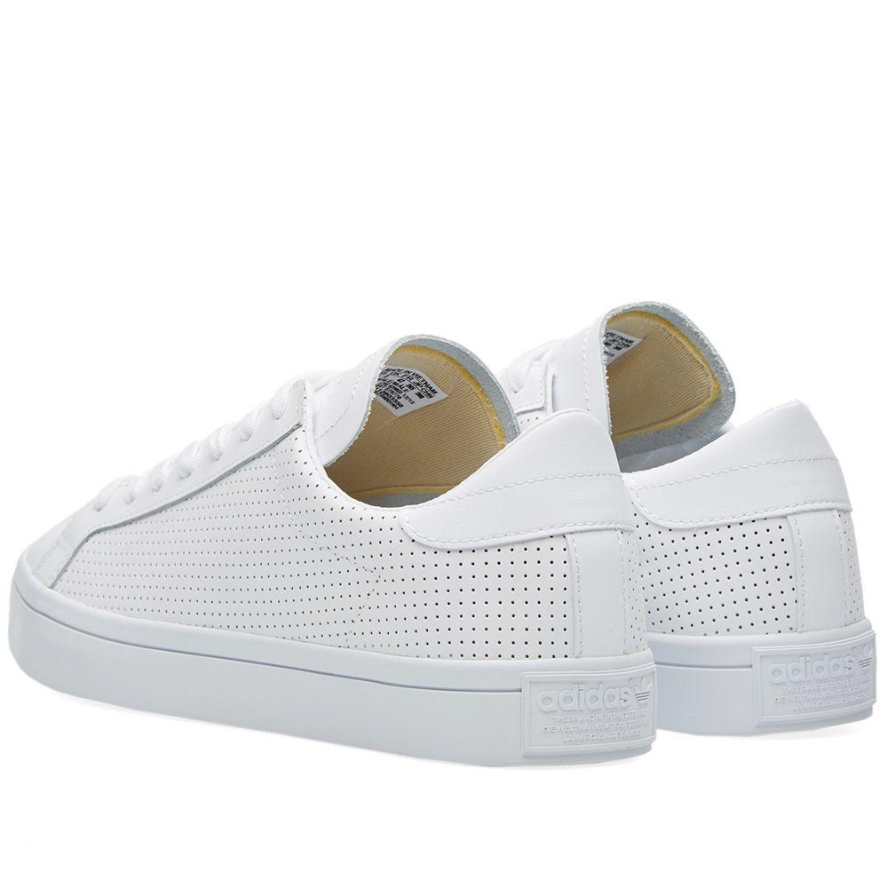 cheap for discount 678ba 1f567 Adidas Court Vantage White  Core Black  END.