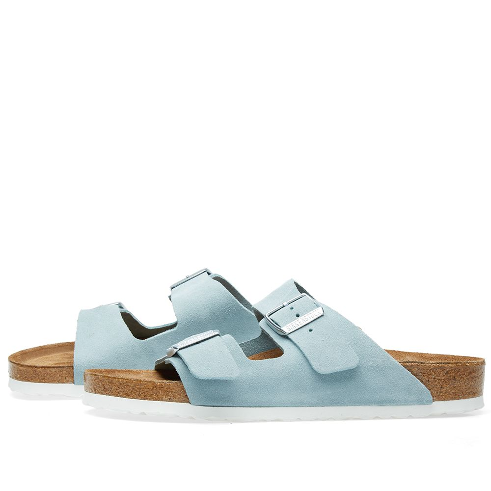 6991cd8bcaac Birkenstock Arizona SFB Light Blue Suede