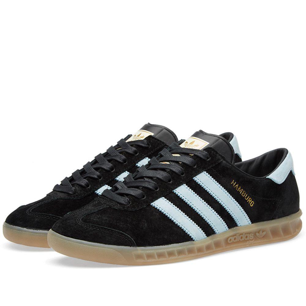 Adidas Hamburg. Black   Blush Blue. £72 efa6f3da71e1