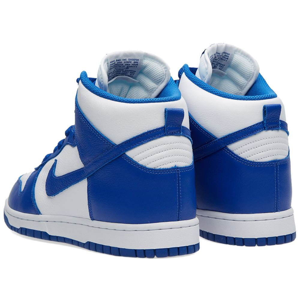 wholesale dealer cda36 a2e24 Nike Dunk Retro QS White  Varsity Royal  END.