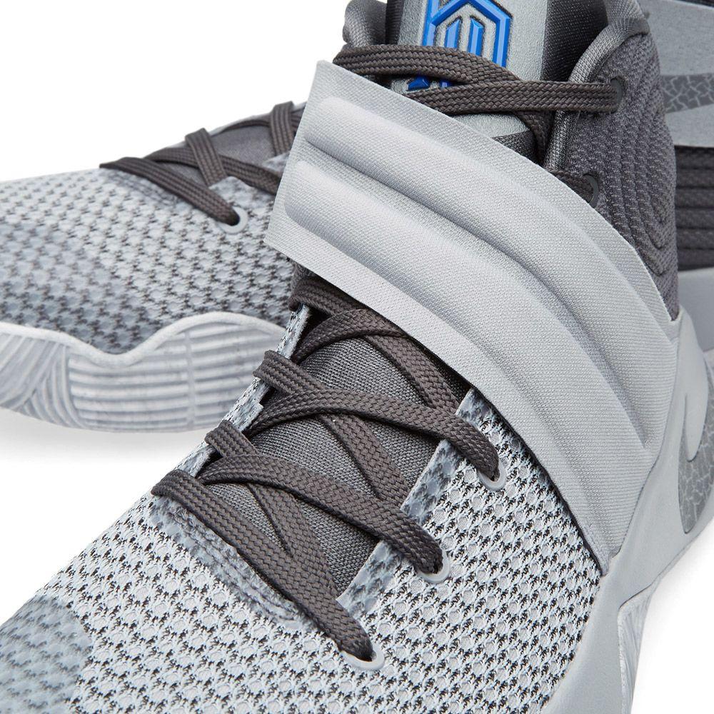aca460487e11 Nike Kyrie 2 Wolf Grey   Omega Blue