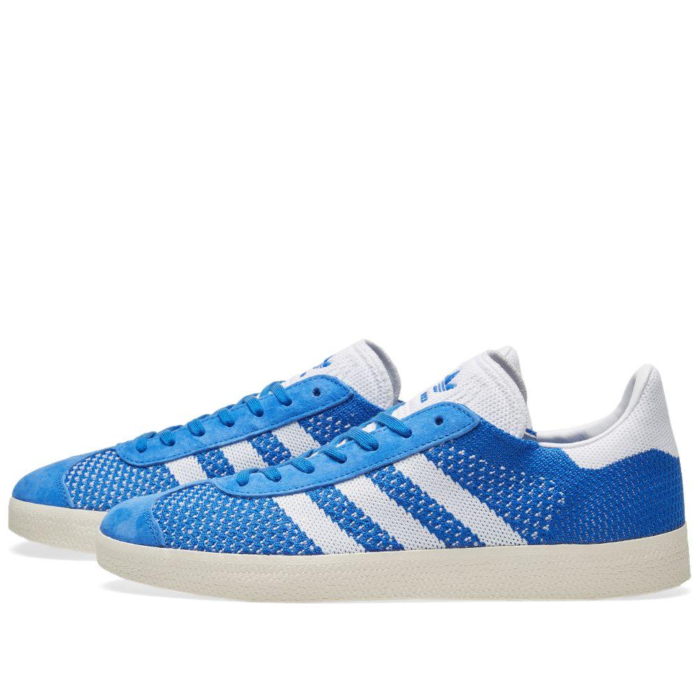 reputable site 6805f 9cefd Adidas Gazelle PK Blue  Chalk White  END.