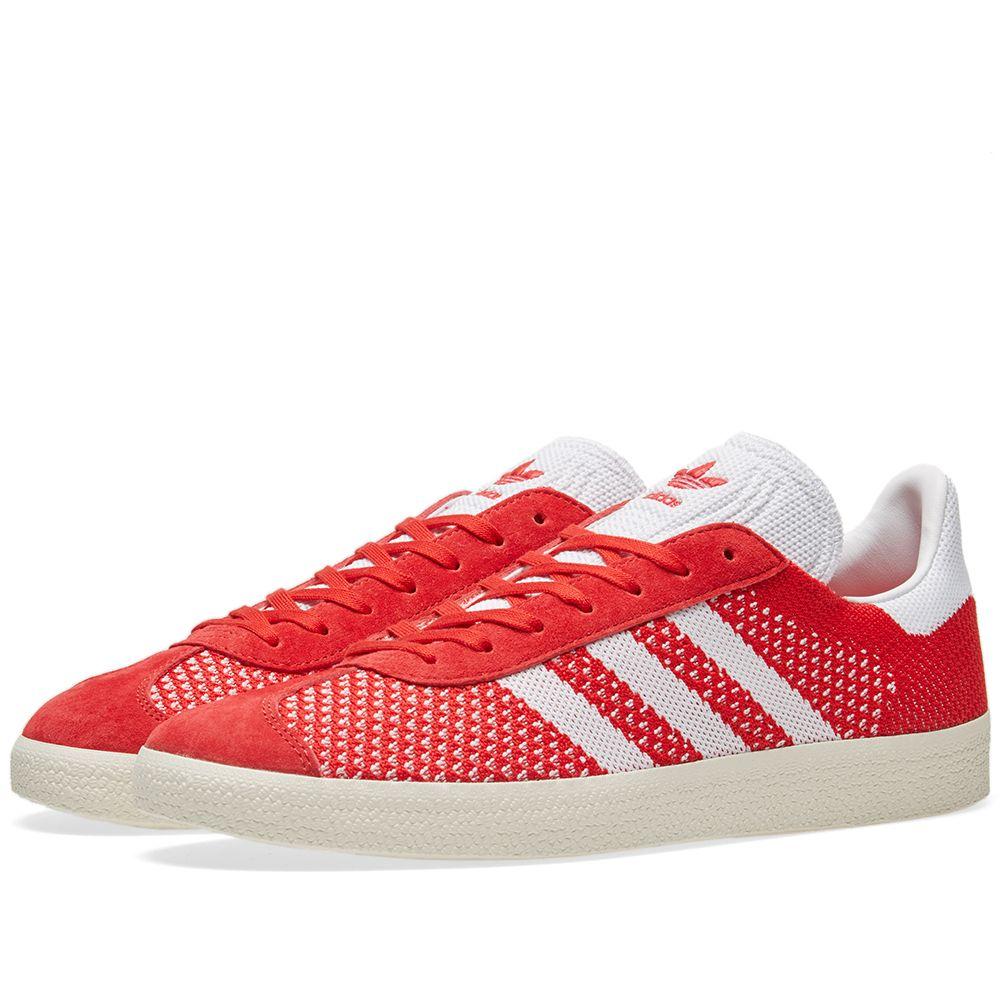 buy online e3563 3637c Adidas Gazelle PK Scarlet  Chalk White  END.