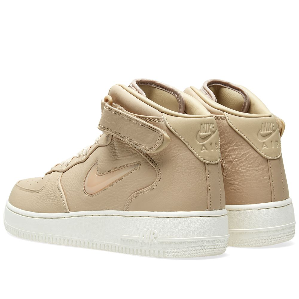 Nike Air Force 1 Premium Retro Mid  Jewel . Mushroom   Sail. S 205. image.  image. image 5ce18a2c27
