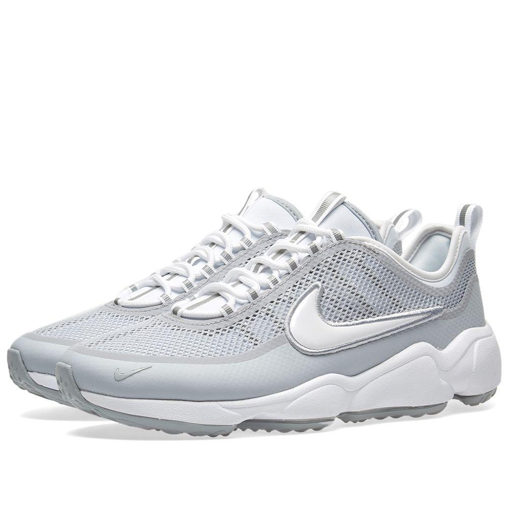 ed922deb177c9 Nike Air Zoom Spiridon Ultra. White   Wolf Grey. ₩132