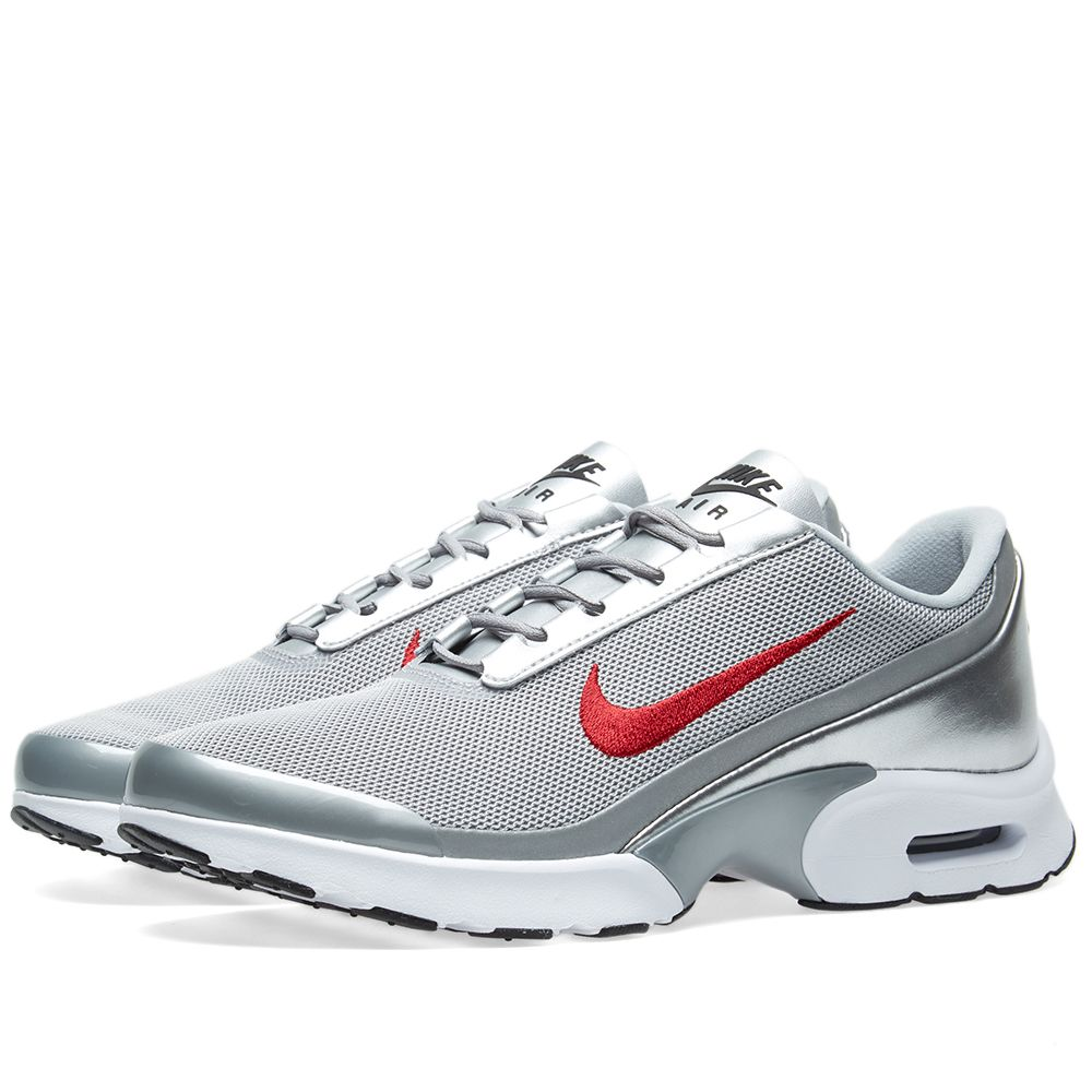 62bd3a526e8ae3 Nike W Air Max Jewell QS. Metallic Silver   Varisty Red. S 145 S 99. image