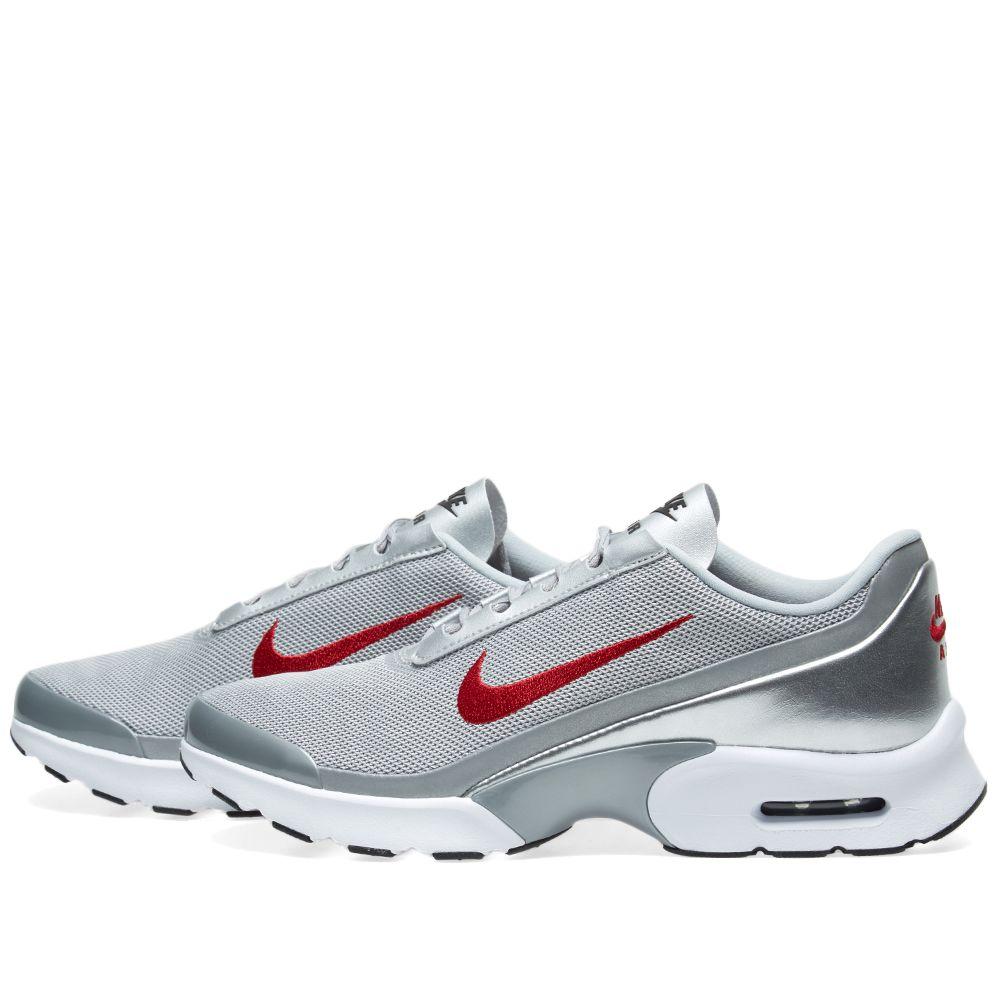 766c8e8e34f Nike W Air Max Jewell QS Metallic Silver   Varisty Red