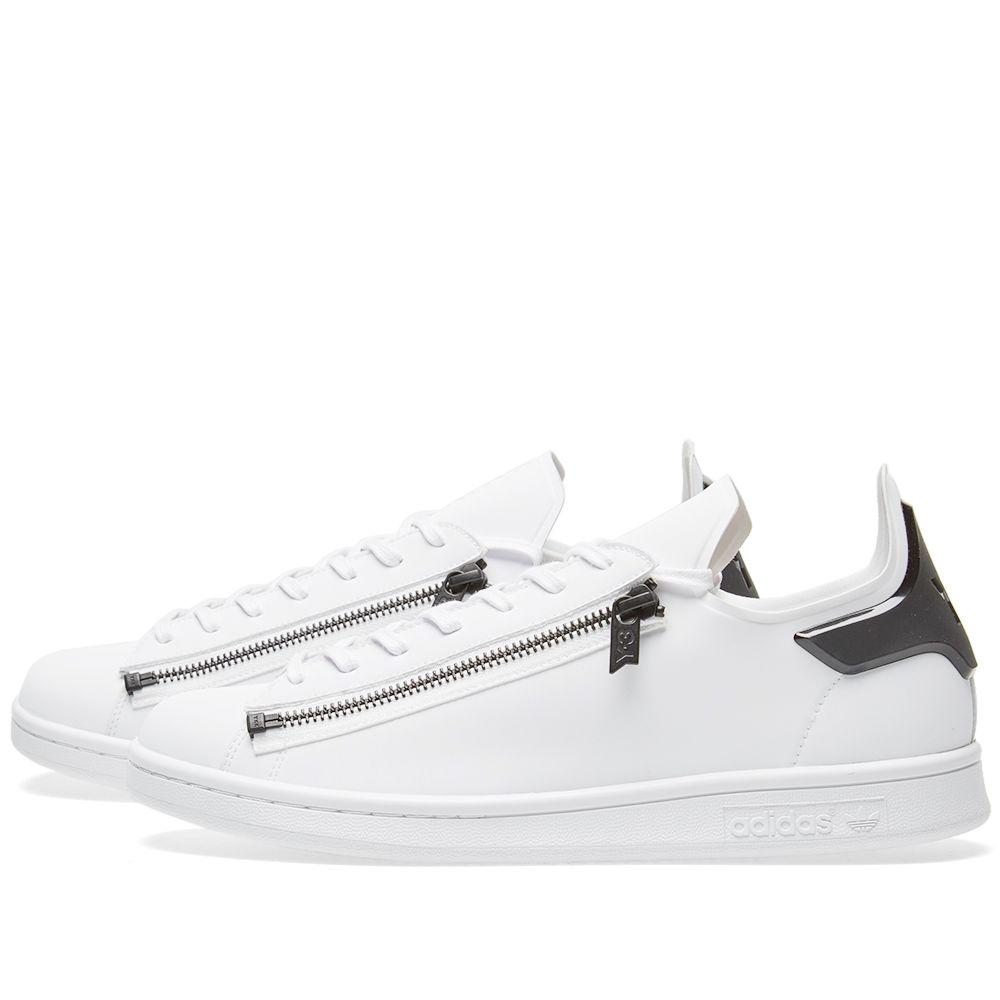 41c54d1ea93 Y-3 Stan Zip White   Core Black