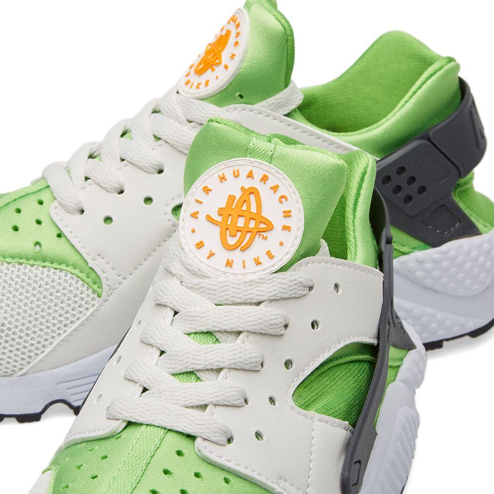 a5b033d07019 Nike Air Huarache Action Green   White