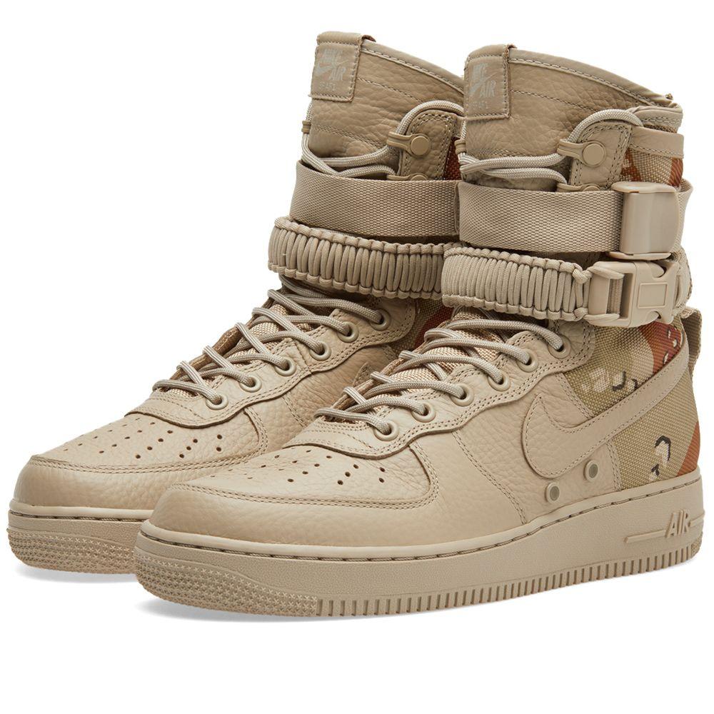 9ab700573976b9 Nike SF Air Force 1. Chino   Classic Stone. £125. image