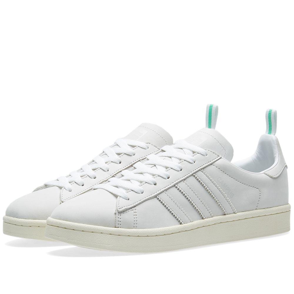 f4fbf71278204e Adidas Campus White   Vintage White