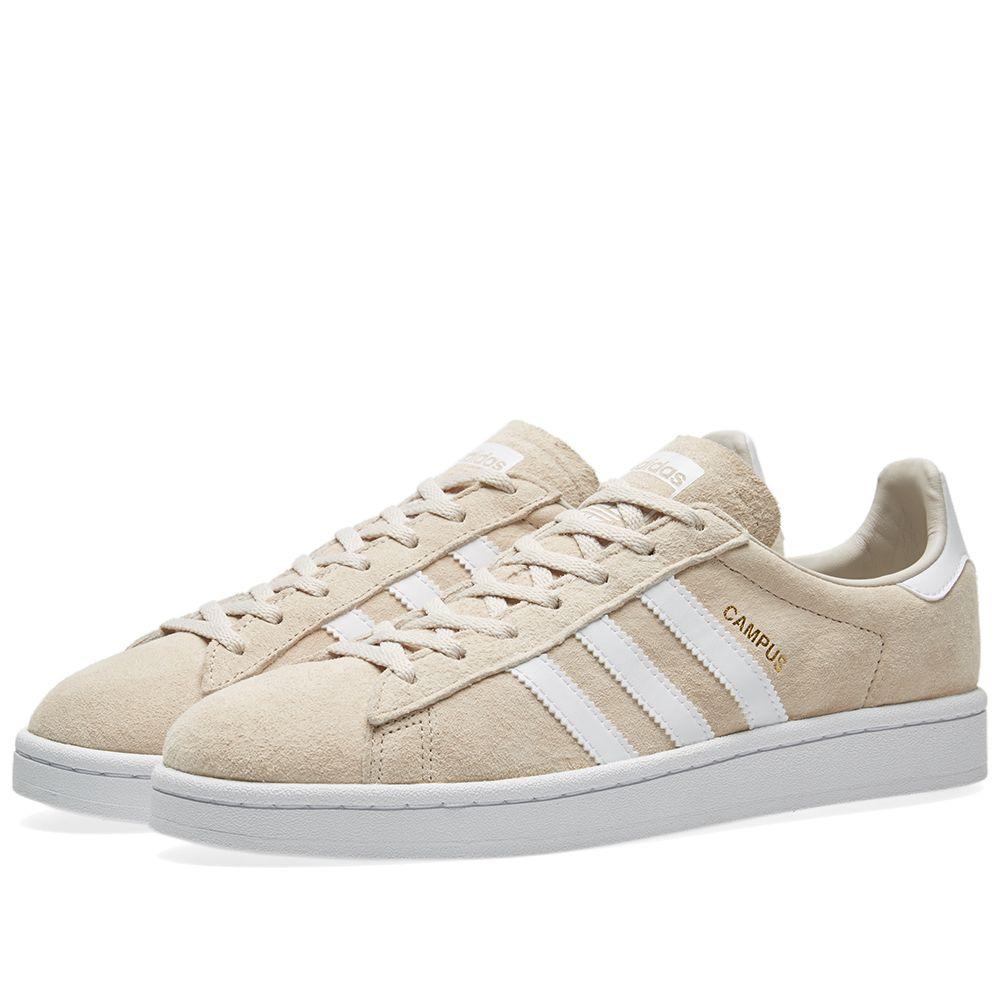 78501b243eb7 Adidas Campus W Clear Brown   Crystal White