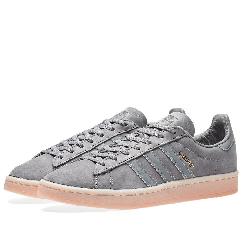 big sale d023c 2dc07 Adidas Campus W. Grey Three  Icey Pink. CA125 CA69. image