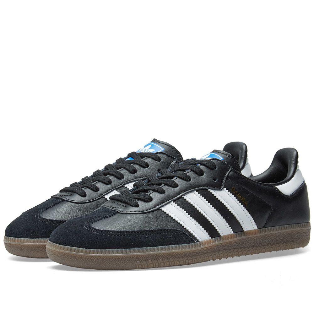 premium selection d89ca afc17 Adidas Samba OG Core Black, White   Gum   END.