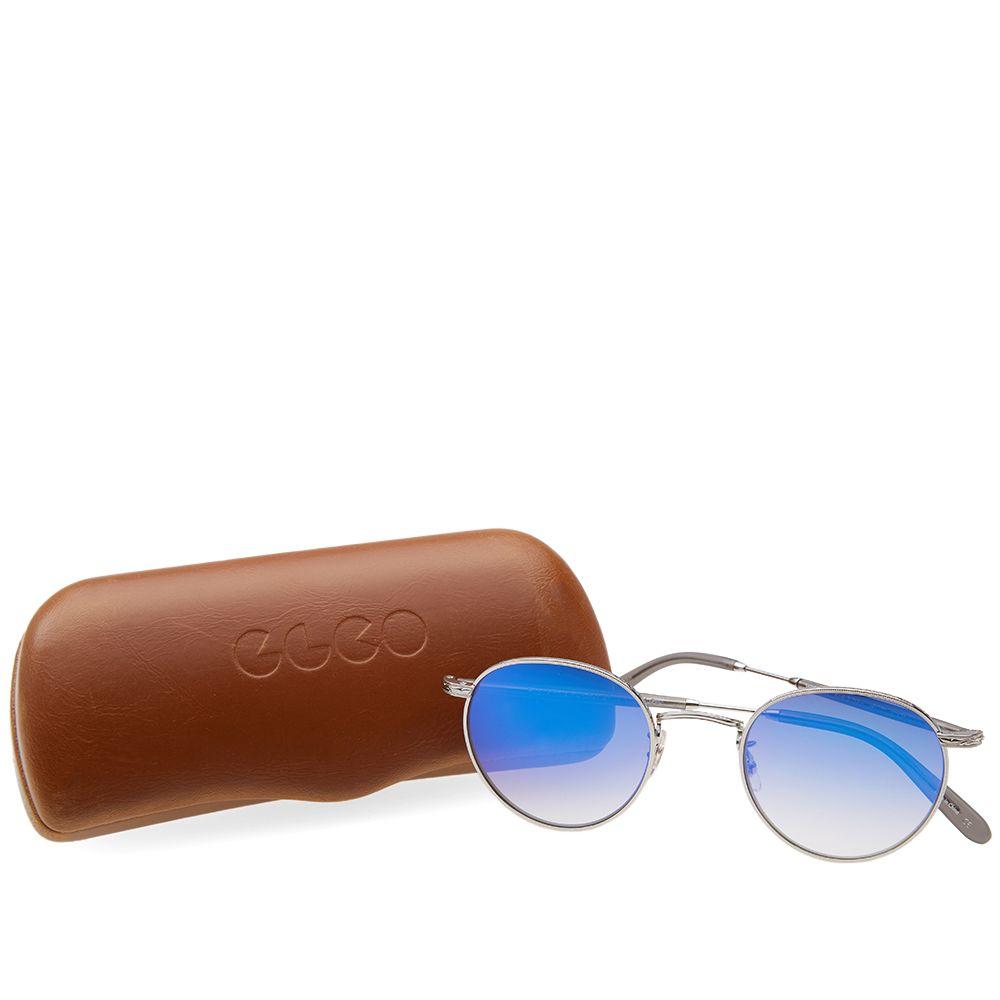 a48b9f9977 Garrett Leight Wilson M Sunglasses. Silver