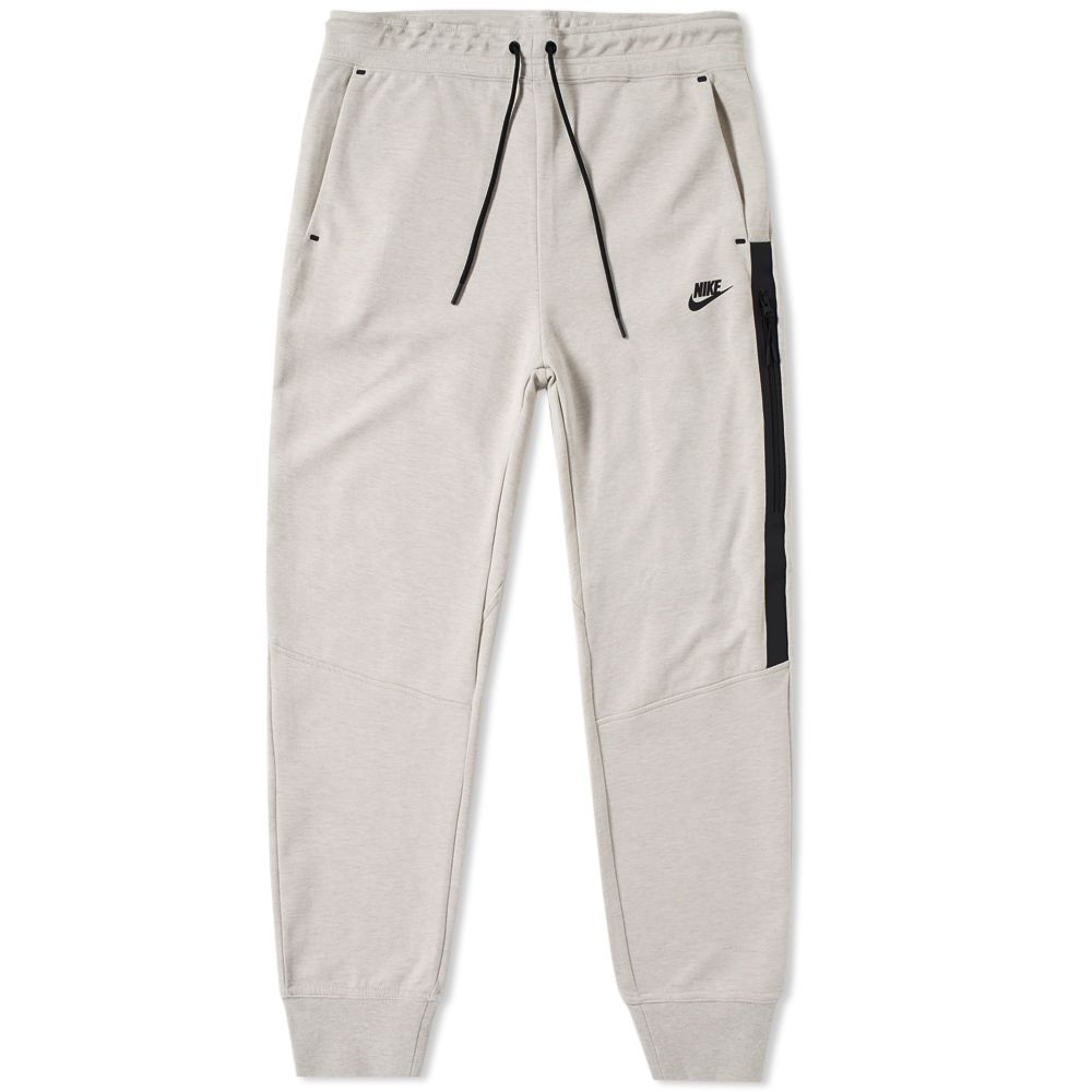 4fbc13e67161 Nike Tech Fleece Pant W Light Bone Heather   Black