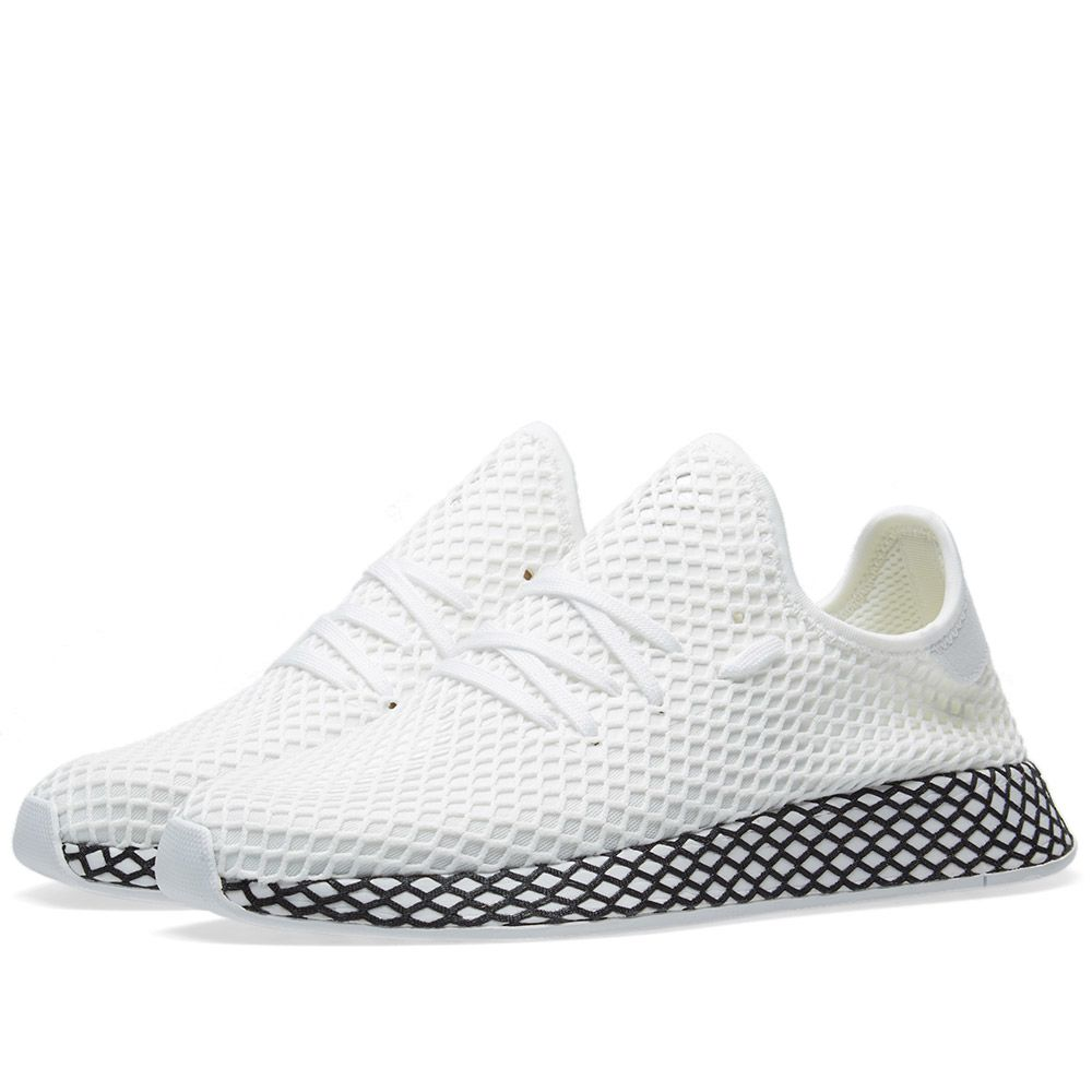 Adidas Deerupt Runner White   Core Black  5bf44db92