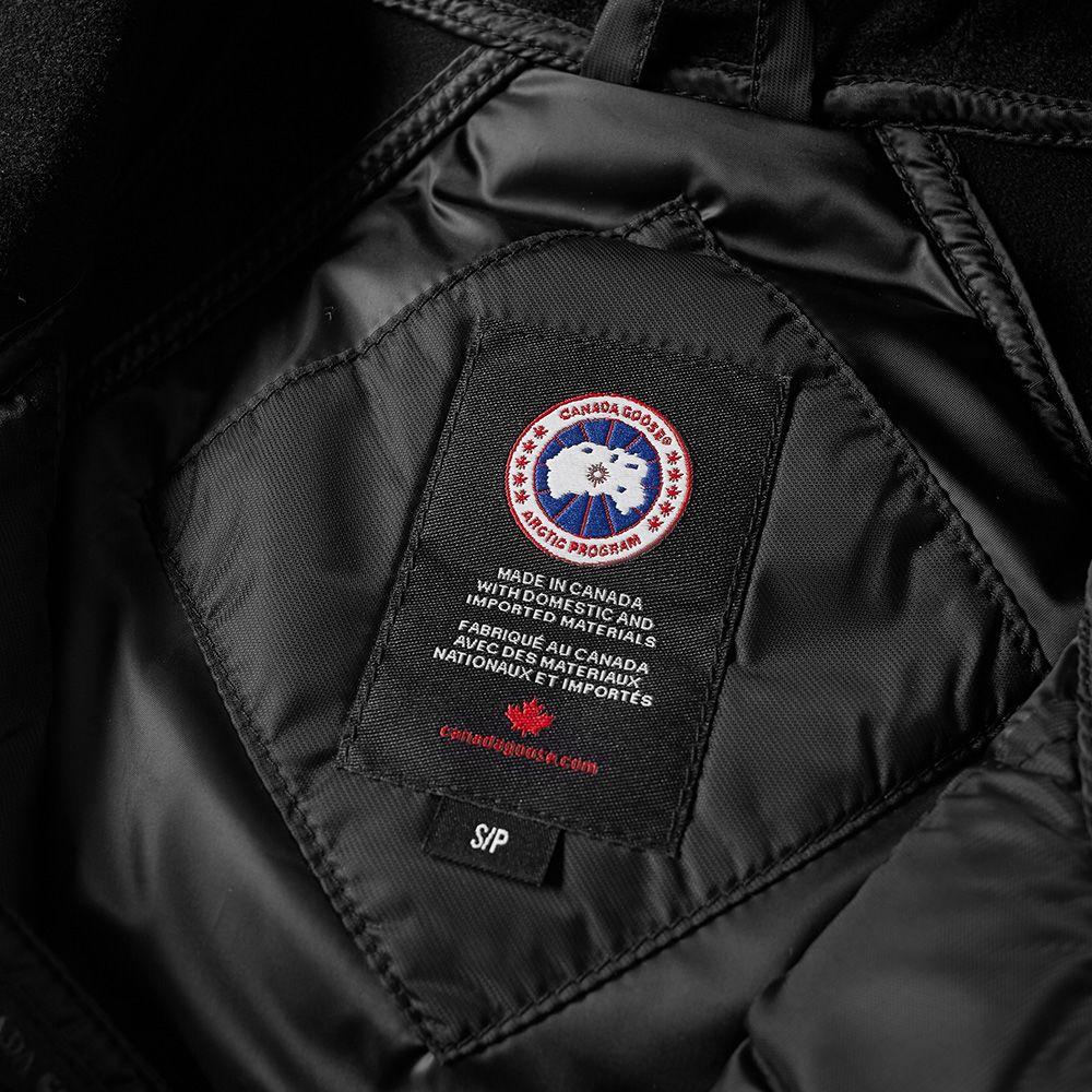 dbc61ed099859 Canada Goose Hybridge Sutton Coat Black