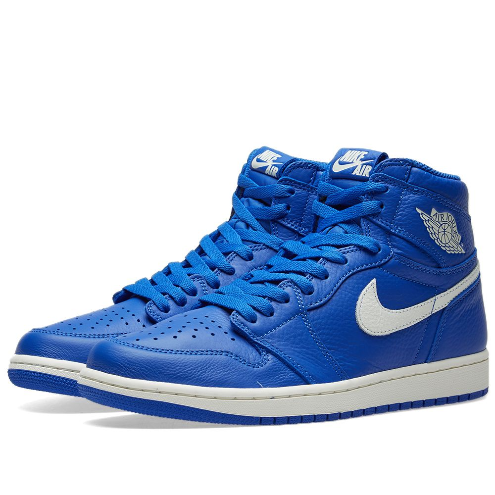 13fca0a798bf Air Jordan 1 Retro High OG Hyper Royal   Sail