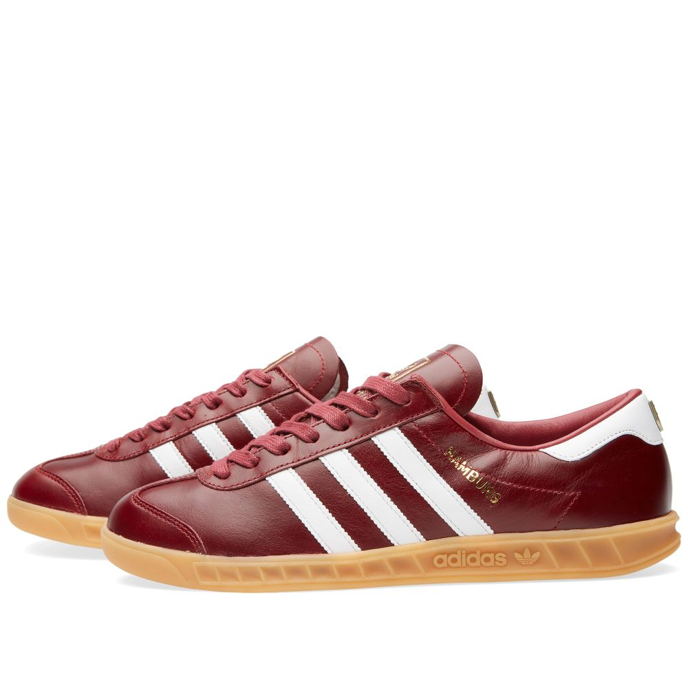 buy online a2658 6e117 Adidas Hamburg - Made in Germany. Collegiate Burgundy  White