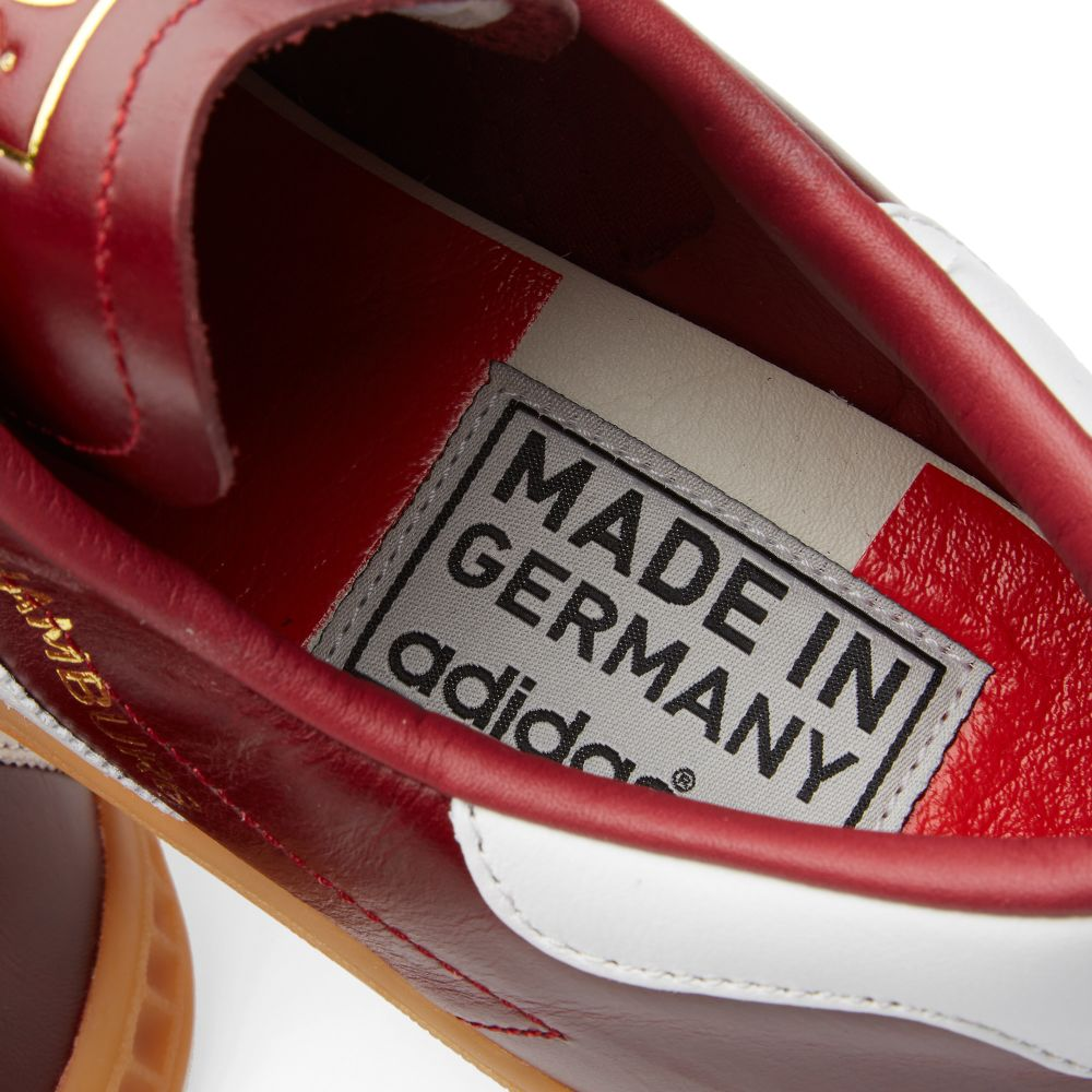 info for d3a5c b8f36 Adidas Hamburg - Made in Germany Collegiate Burgundy  White