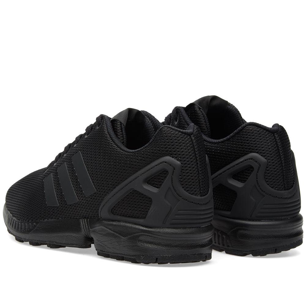 0c8aebb4dc2b5 Adidas ZX Flux Core Black   Dark Grey