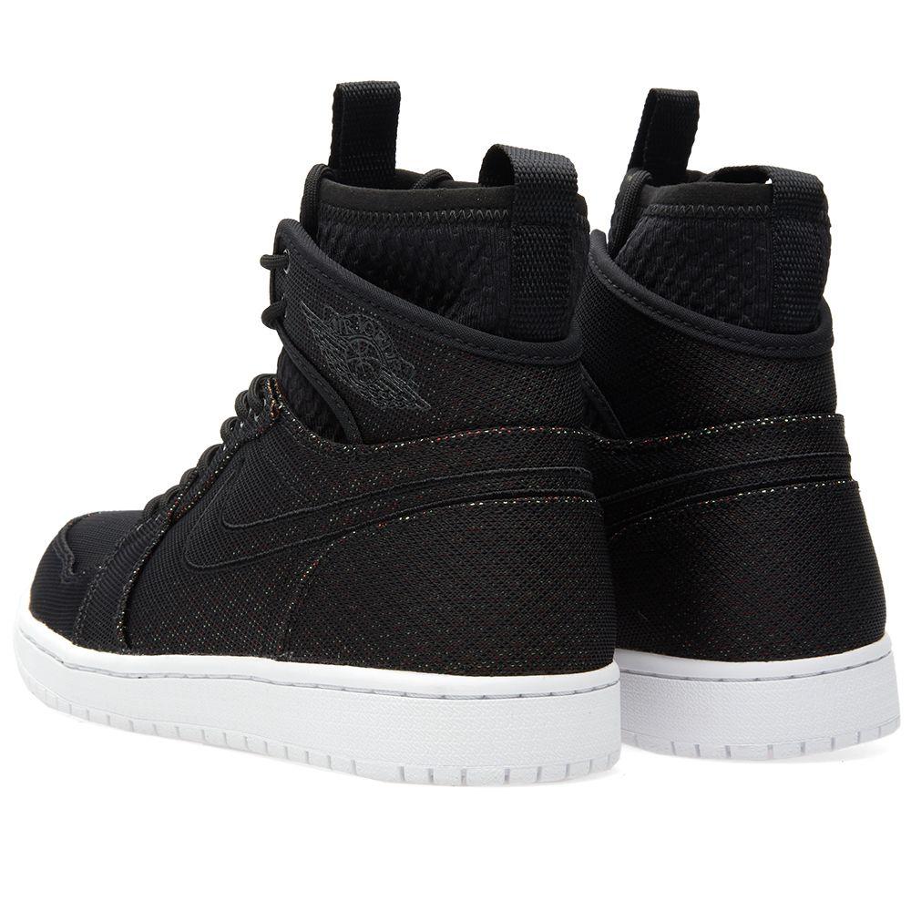 best cheap f401b 019f9 Nike Air Jordan 1 Retro Ultra High Black   Ghost Green   END.
