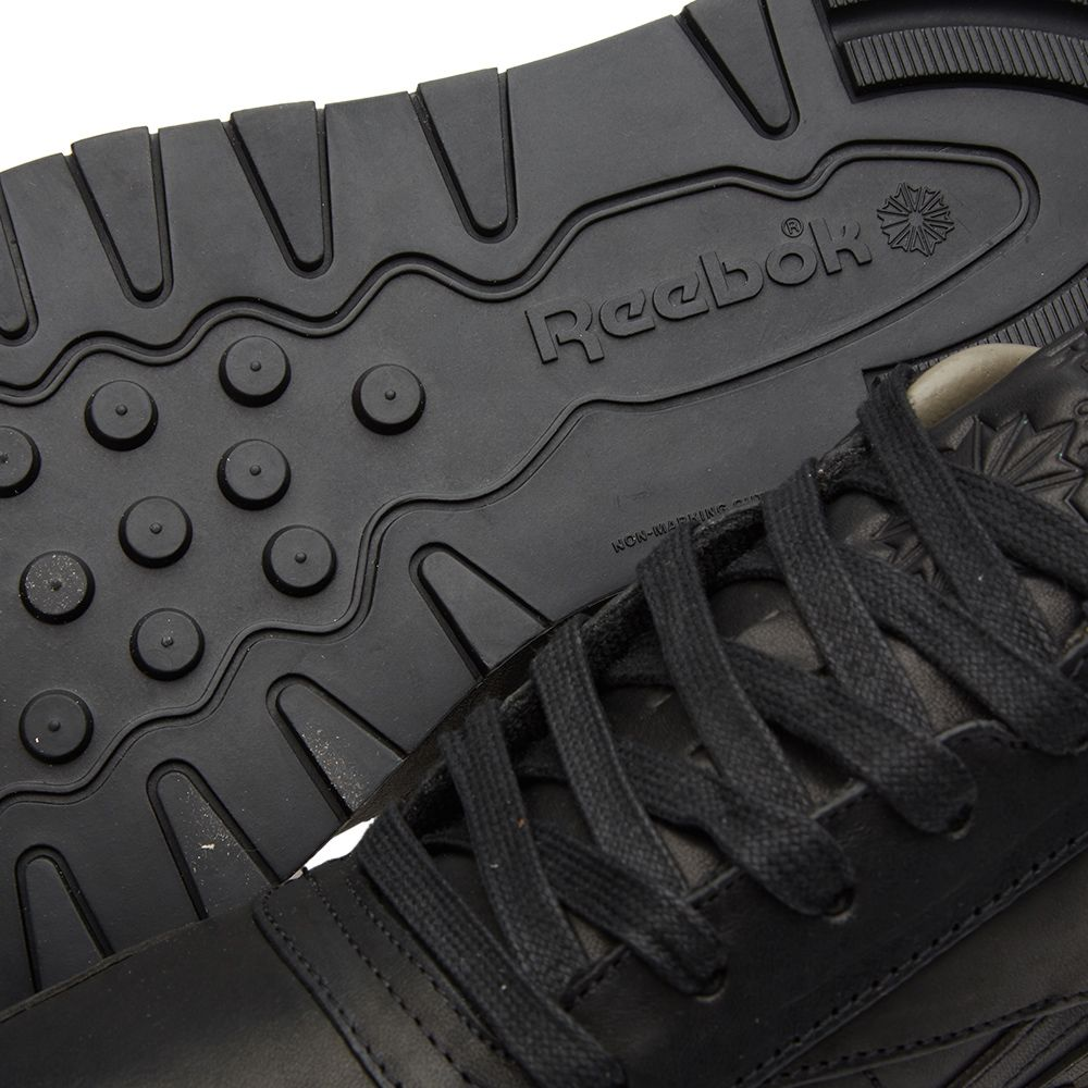 09c450b77b5101 Reebok x Horween Leather Co. Classic Leather Lux Black   Coal