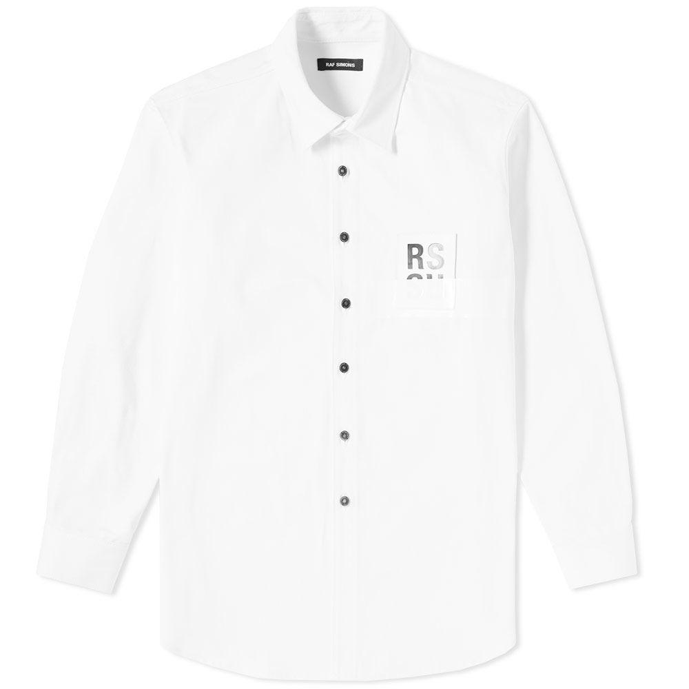 16bafd76b04 homeRaf Simons Patch Denim Shirt. image. image. image. image. image. image.  image. image. image