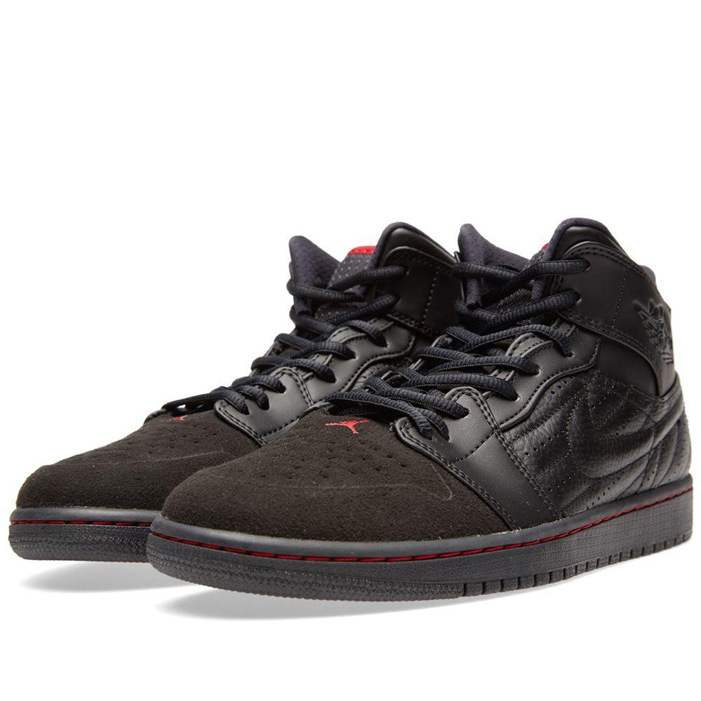 buy popular 8a252 73d4c Nike Air Jordan 1 Retro  99. Black   Gym Red. CA 165 CA 105. Plus Free  Shipping. image