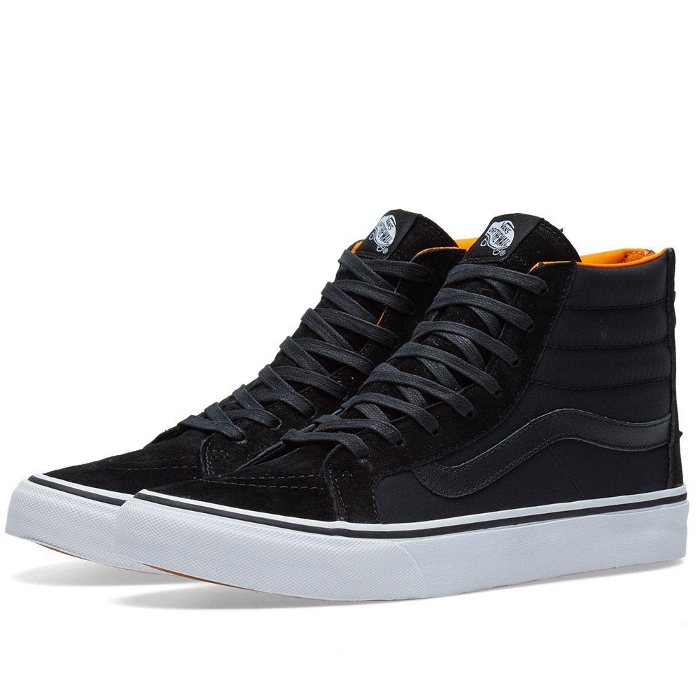30cfbc6ca8 Vans Sk8-Hi Slim Zip Black