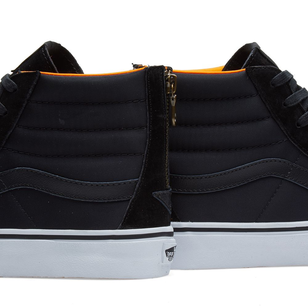 Vans Sk8-Hi Slim Zip. Black.  95  49. image. image. image. image 0cf7c9816f