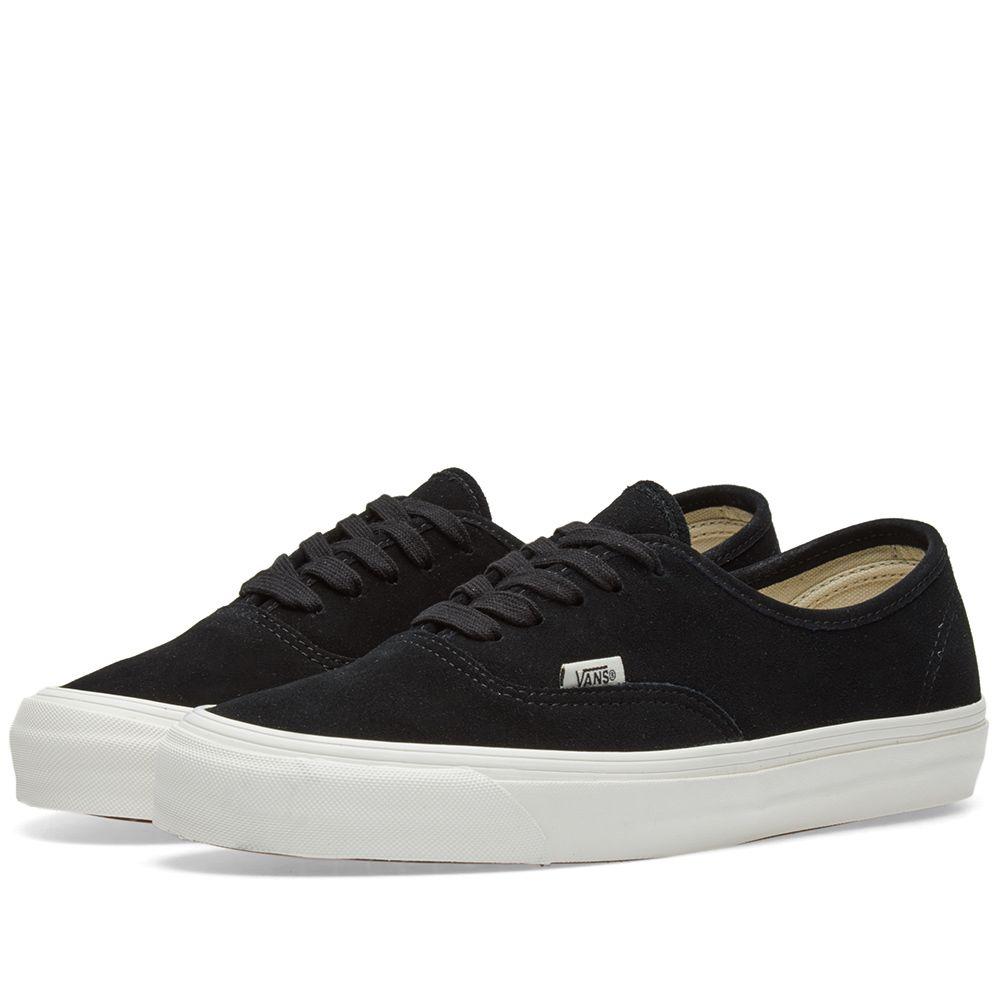 aa4b16219b3a Vans Vault OG Authentic LX Black Suede